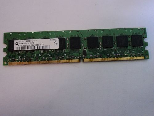 1 GB QIMONDA PC2-6400 DDR2-800MHz ECC Unbuffered 240-Pin Memory