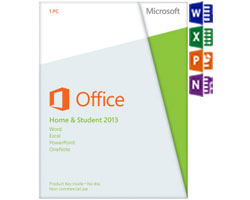 Microsoft Office Home and Student 2013 (PKC)