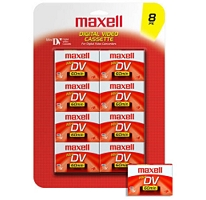 Maxell Mini DV 60 Min Digital Video Cassette (10 Pcs.)
