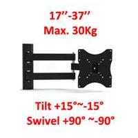 "SM1095 Wall Mount for 17"" - 37"" LCD/TVs"