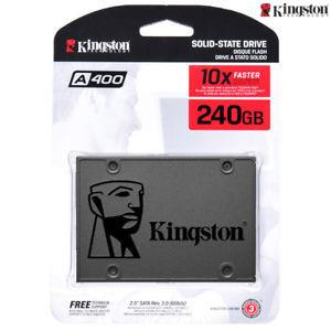240 GB Kingston A400 SSD Solid State Drive SA400S37/240G