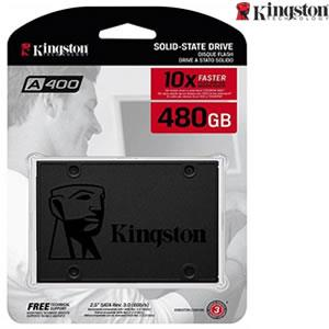 480 GB Kingston A400 SSD Solid State Drive SA400S37/240G