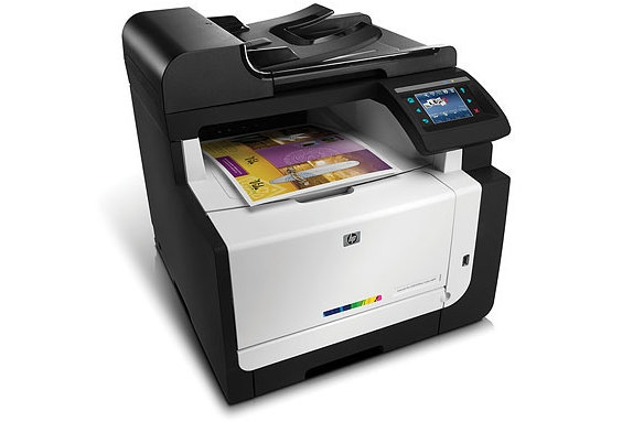 HP LaserJet Pro CM1415fnw Color Wireless Multifunction Printer