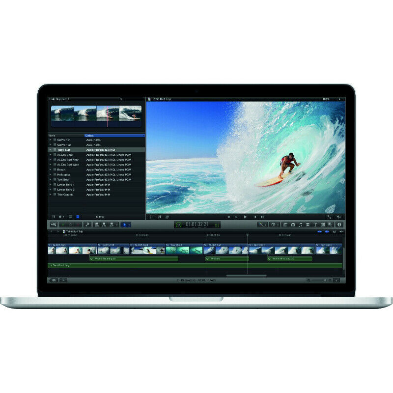 "15.4"" Apple MacBook Pro Retina 2013 Intel i7 8G 256G OSX 11.15"