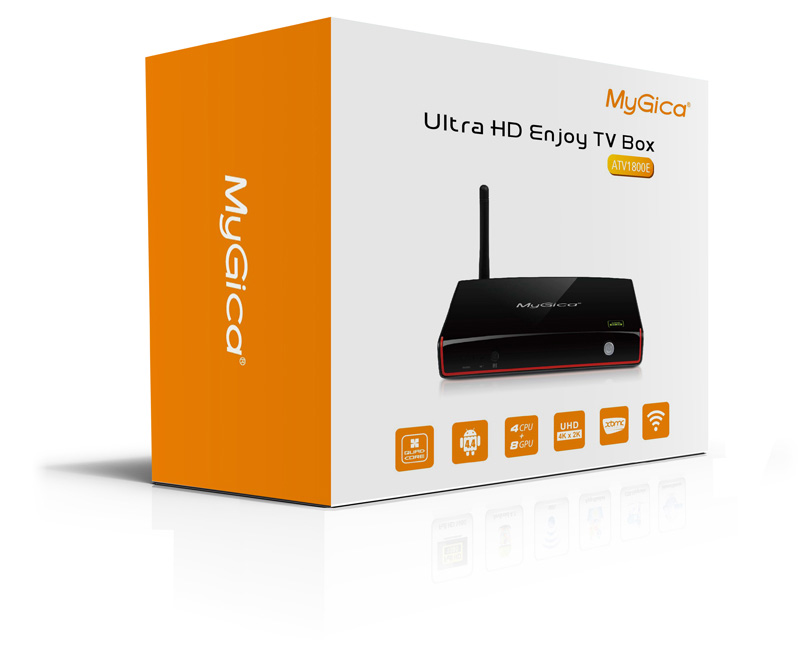 MyGica ATV1800E, Quad Core Android TV Box 2015 Addons Installed