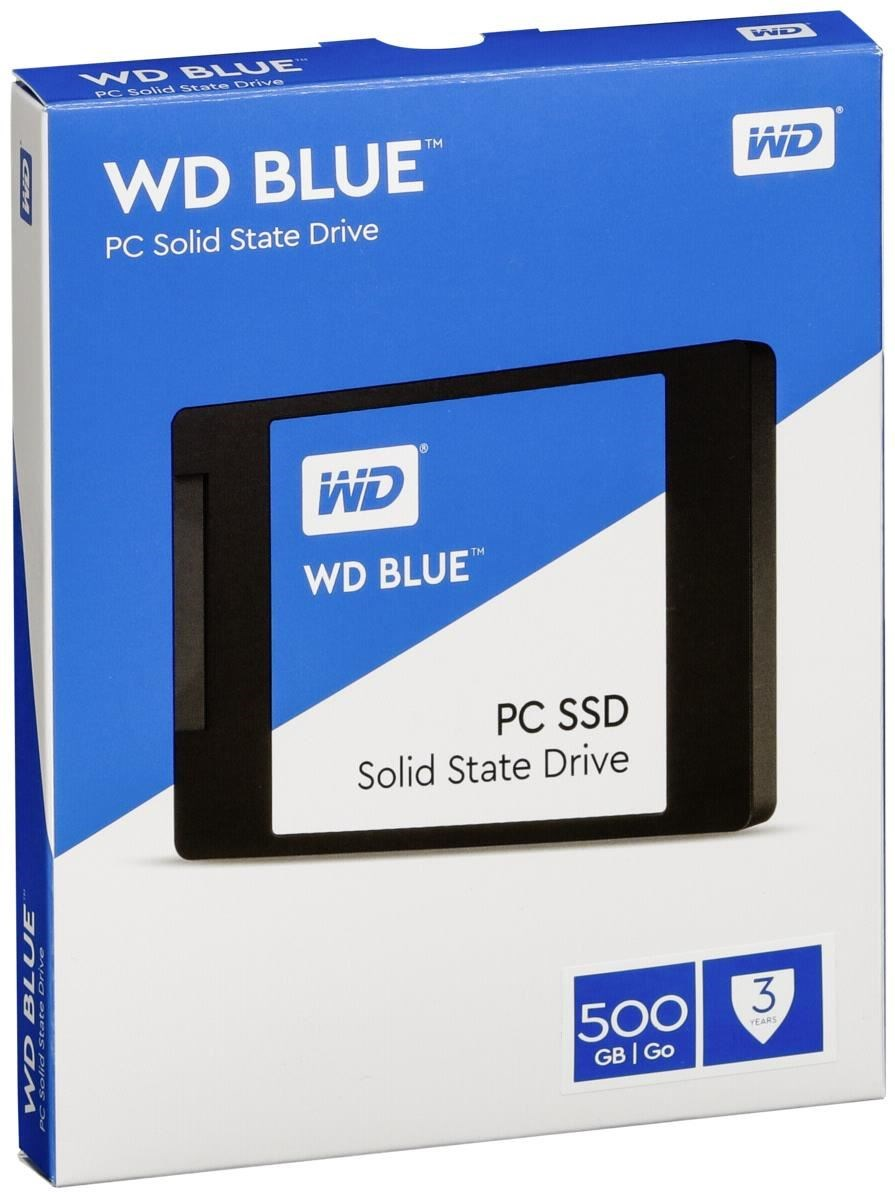 500 GB W.D. Blue Internal SSD Solid State Drive - SATA 6Gb/s