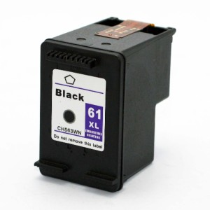 HP 61XL Black Remanufactured Ink Cartridge (High Yield)