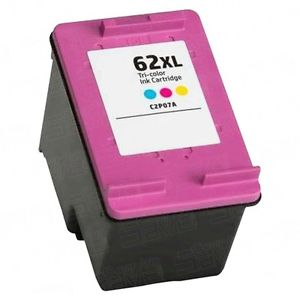 HP 62XL High Yeild Color Remanufactured Ink Cartridge