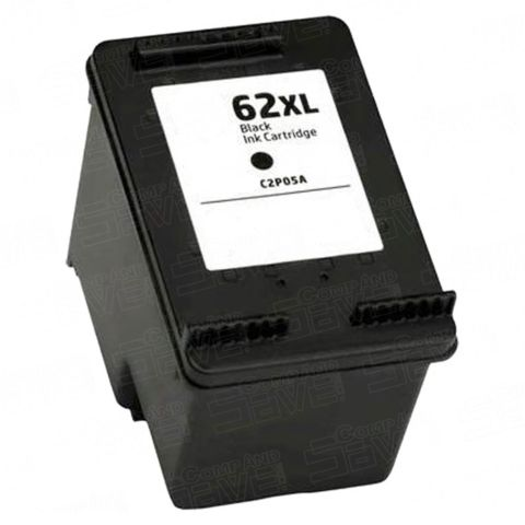 HP 62XL High Yeild Black Remanufactured Ink Cartridge