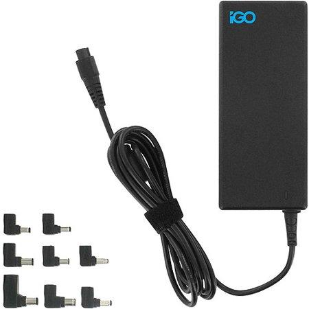 IGO 90W Universal Laptop Charger with Surge Protection & 8 Tips