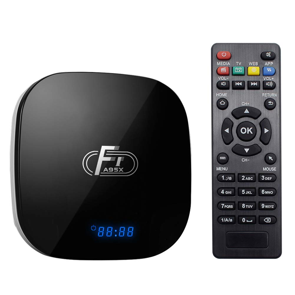 A95X F1 TV Box S905W 2GB Ram + 16GB Storage HDMI WiFi Kodi 17.6