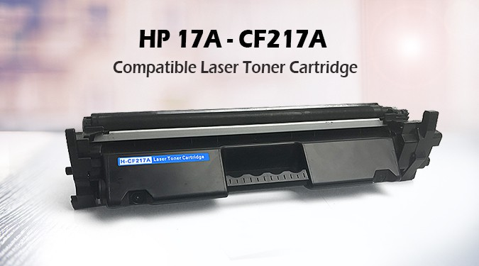 HP CF217A Compatible Black Toner Cartridge 17A