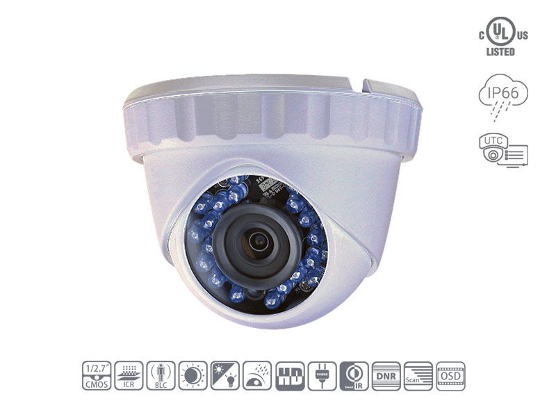 Speedex CH1020A 1080P TVI Fixed Turret Camera