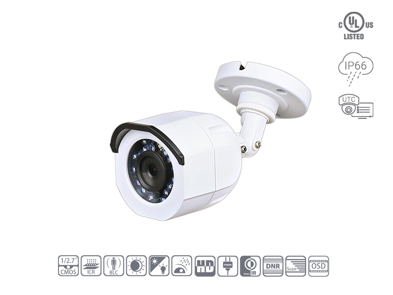 Speedex CH3020A 1080P TVI Fixed Bullet Camera