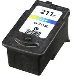 Canon CL-211XL High Yeild Color Remanufactured Ink Cartridge