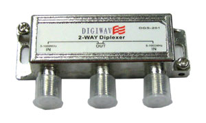 DGS-201 Double Antenna Diplexer for HDTV off-air Antenna