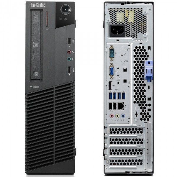 Lenovo ThinksCentre M81 SFF PC Intel i3-2100 4G 320G Windows 7