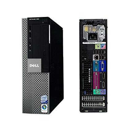 Dell Optiplex 960 SFF PC Intel C2D 3.0G 4G 160G Win 7 Pro