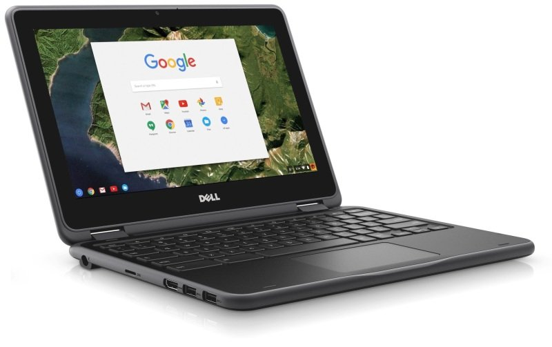 "11.6"" Dell Chromebook 4G Ram 16G SSD HDMI USB3.0 Dual Band"