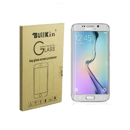 BullKin Tempered Glass Screen Protector for Samsung S6 Edge