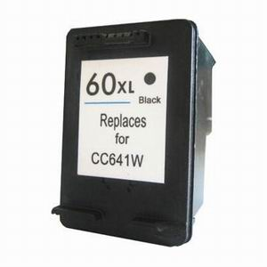 HP 60XL High Yeild (2X More) Black Remanufactured Ink Cartridge