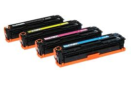 HP CB541A / CB542A / CB543A Color Compatible New Toner (Each)