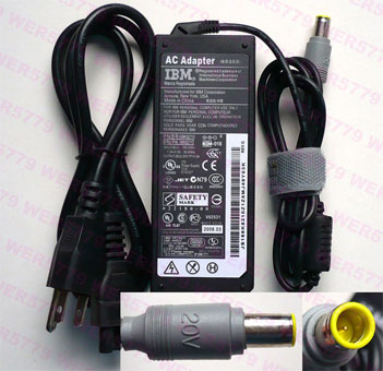 For Lenovo / IBM 20V 3.25A (65W) 7.4mm X 5.0mm Power Adapter