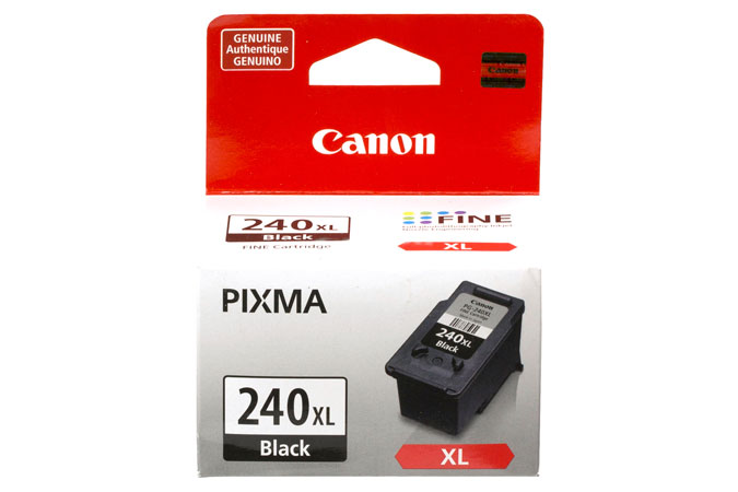 Canon PG-240XL High Yield Genuine Black Ink (5206B001)