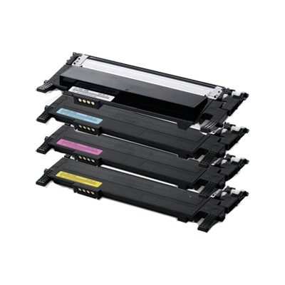 Samsung CLT-K406S Black/Color Compatible New Toner (4 Color Set)