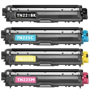 Brother TN221 BK / TN225 Color Compatible New Toner (Each Color)