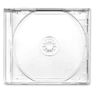 CD Jewel Case 10.4mm Regular Single (100 pcs.) Clear