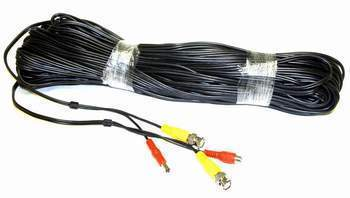 25' BNC & POWER REDAY PLUG & PLAY CABLE