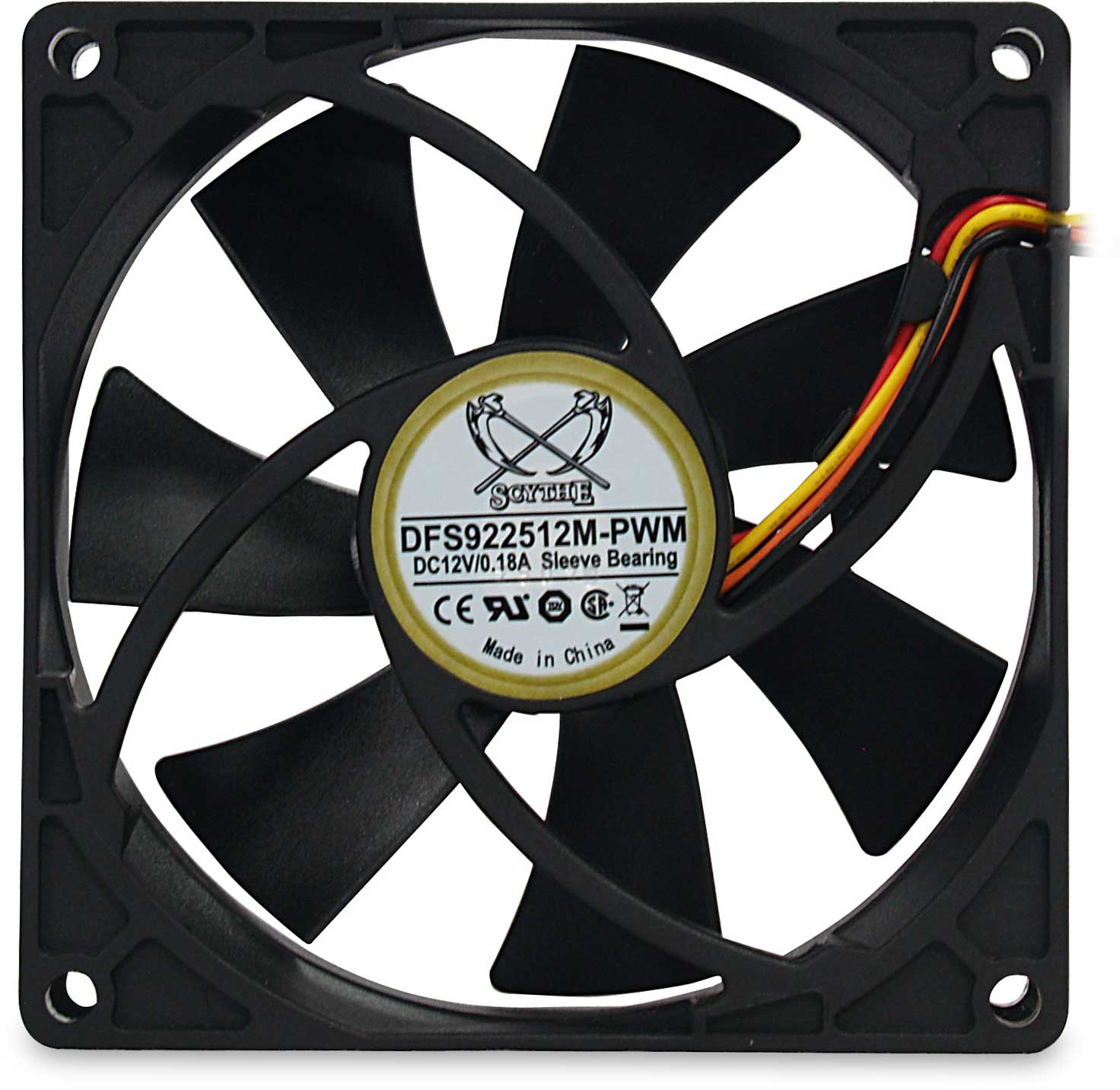 92mm Case Fan (DC Brushless)