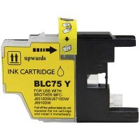 Compatible Ink for Brother LC71 / LC75 Yellow