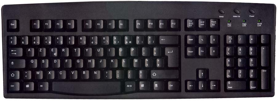 Black PS/2 Keyboard