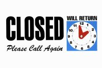 *** CLOSED FOR HOLIDAY ***