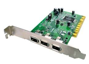Firewire 1394 3-Port PCI (VIA Chipset)