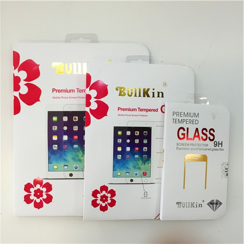 BullKin 0.26mm 9H Tempered Glass Screen Protector for iPhones