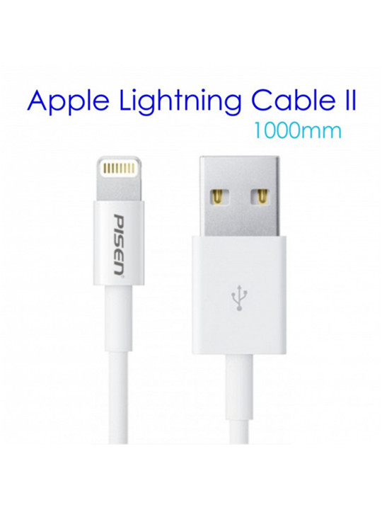PISEN Apple Lightning Data Sync Charging Cable