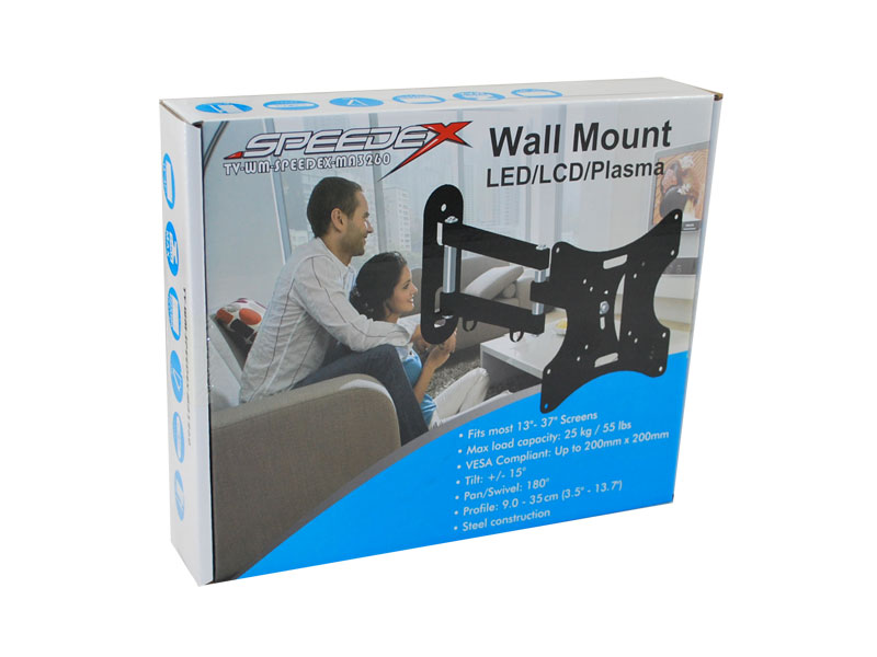 "Speedex MA3260 Wall Mount for 17"" - 37"" LCD/TVs"