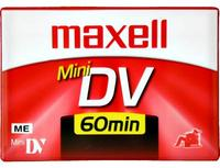 Maxell Mini DV 60 Min Digital Video Cassette (Each)