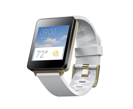 LG W100 Smart Watch with Charger Used