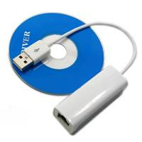 10/100 Mini Portable Fast Speed USB to LAN adapter