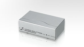 ATEN VS92A 2 Port Video Splitter, 250 Mhz video bandwidth
