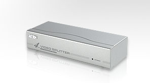 ATEN VS94A 4 Port Video Splitter, 250 Mhz video bandwidth