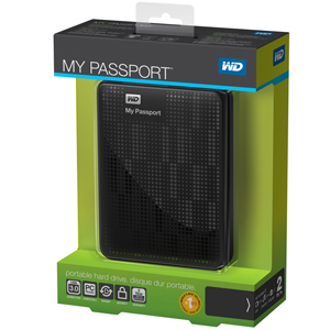 WD 2 TB My Passport Portable Hard Drive WDBY8L0020BBK